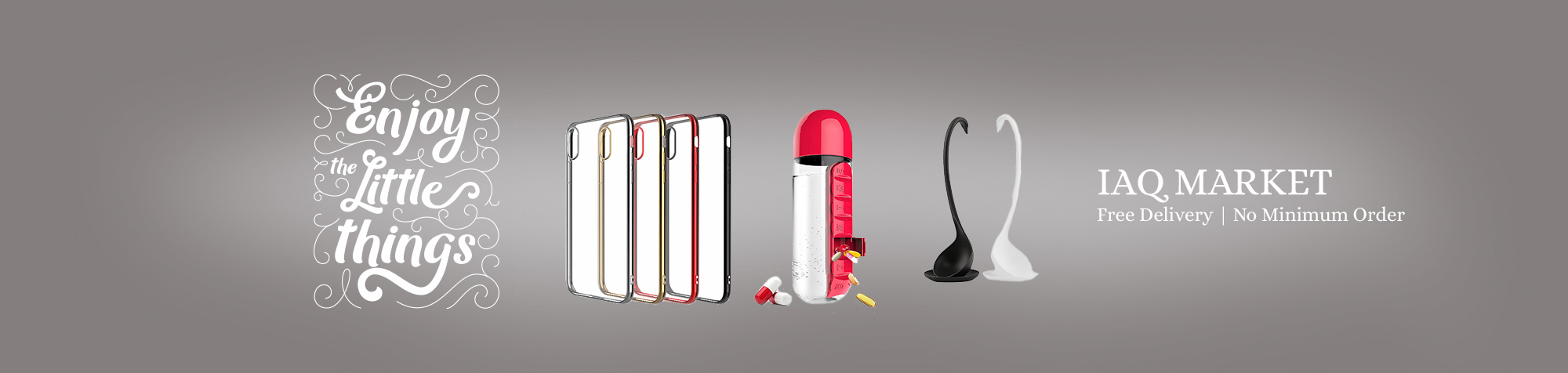 Water Bottle with Built-in Pills Organizer