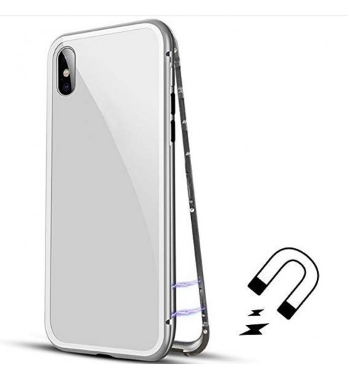Magnetic Adsorption Case - Silver