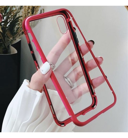 Magnetic Adsorption Case - Red