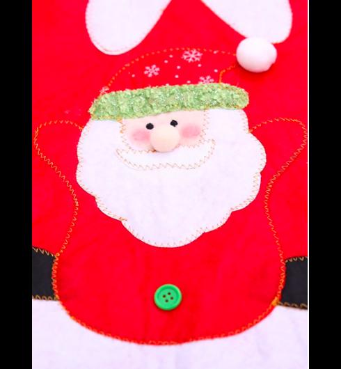 Santa Claus Print Tree Skirt