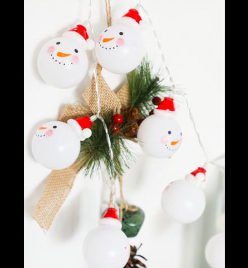 Snowman String Light