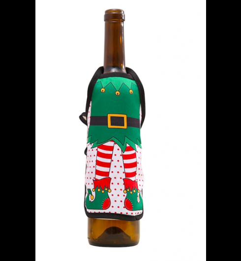 Christmas Cartoon Bottle Cover
