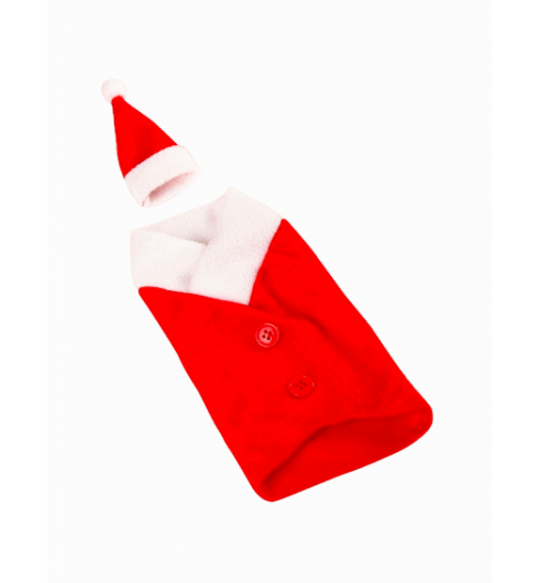 Christmas Hat & Cloth Bottle Cover