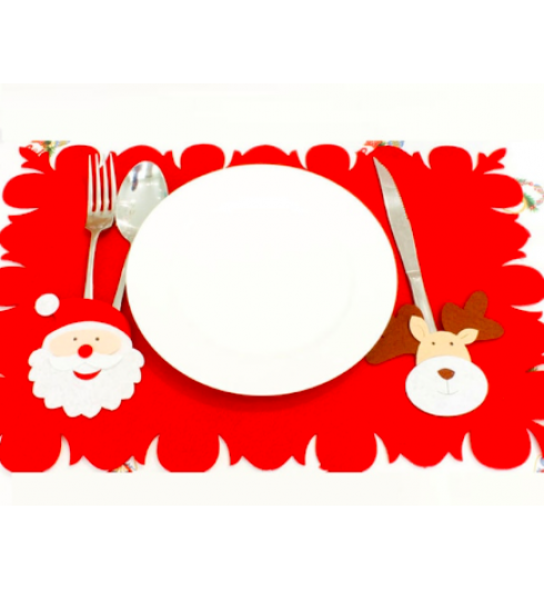 Placemat With Tableware Bag