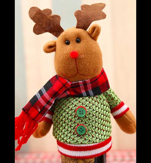 Christmas Moose Bottle Cover