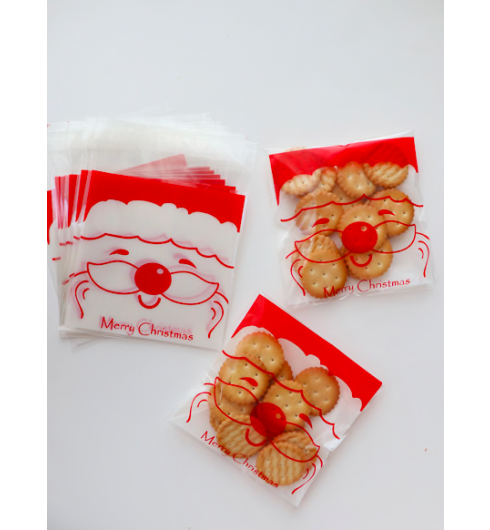 Santa Claus Cookie Bags