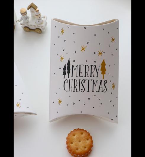 Christmas Print Pillow Box