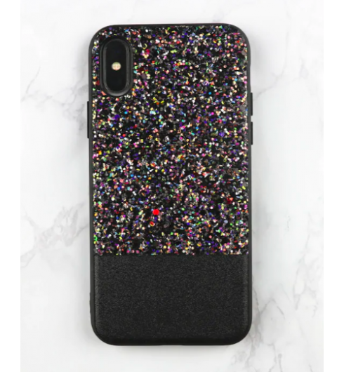 Black Sequin Case for iPhone 7 Plus/8 Plus