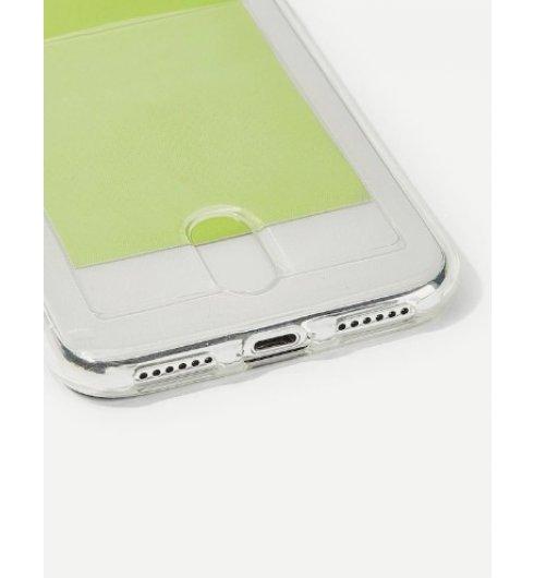Card Slot Transparent iPhone Case
