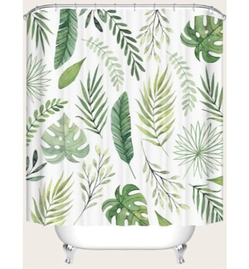 Tropical Shower Curtain