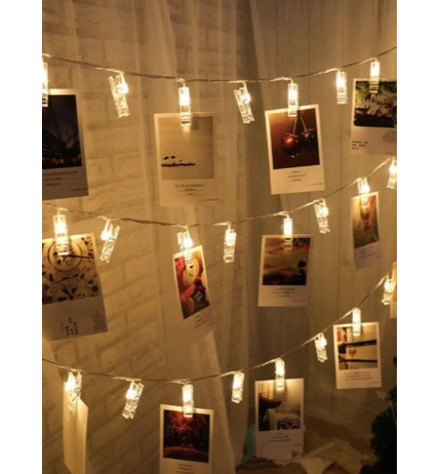 Picture Clip String Lights
