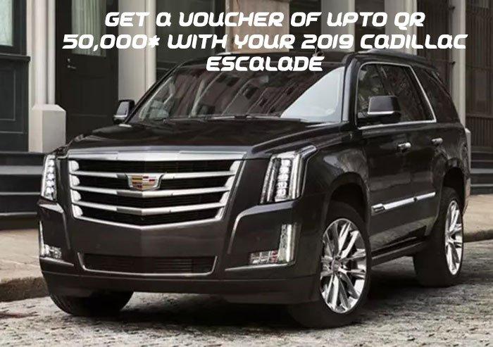 Cadillac Escalade Offer