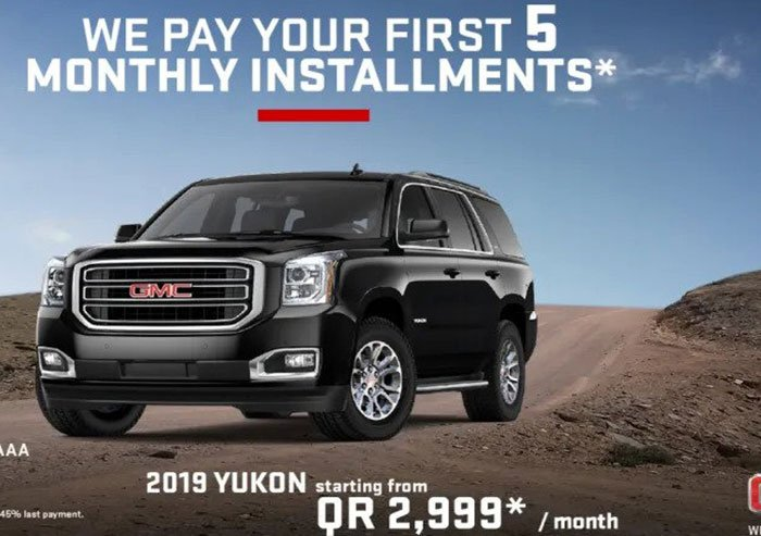 GMC Yukon Offer